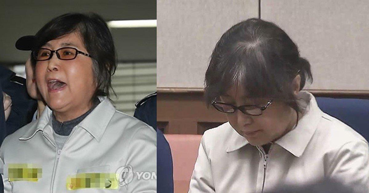 "s 42 - 재판 내내 미소 짓던 최순실, '25년' 구형하자 ""아아악!"" 비명..."