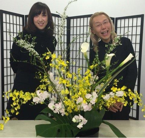 「紫吹淳 生け花」の画像検索結果