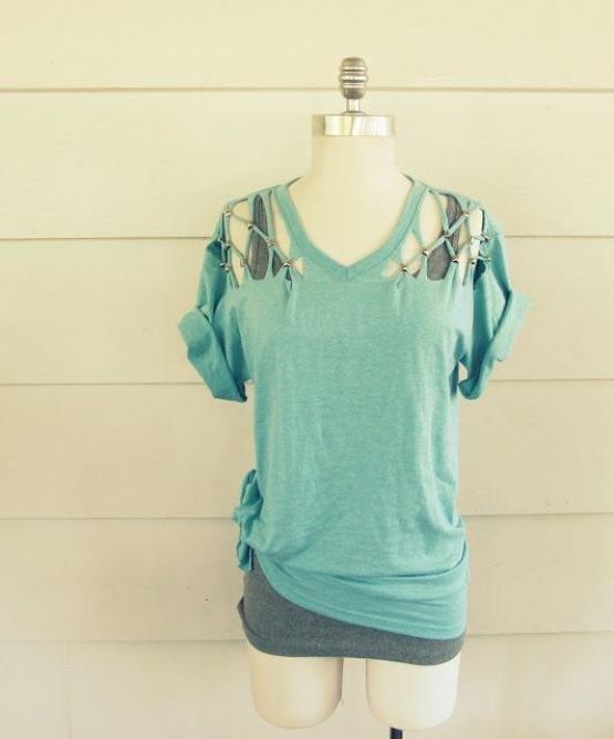 t shirt just as it is boring remake o DETQ 5732b35337a011462940499 - Tシャツ、そのままじゃつまらない。リメイクでオリジナルデザインにしませんか?