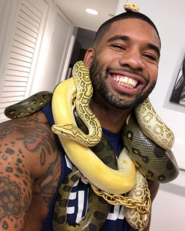 tarzann12 1 - Tarzann Alive: Meet Mike Holston Whose Job And Hobby Is To Take Care Of Exotic Animal Species