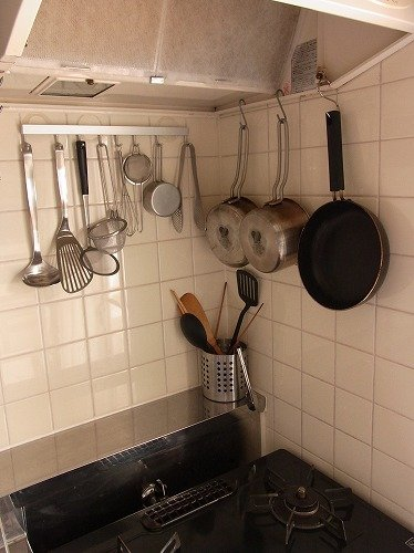 Image result for 狭いキッチン S字フック