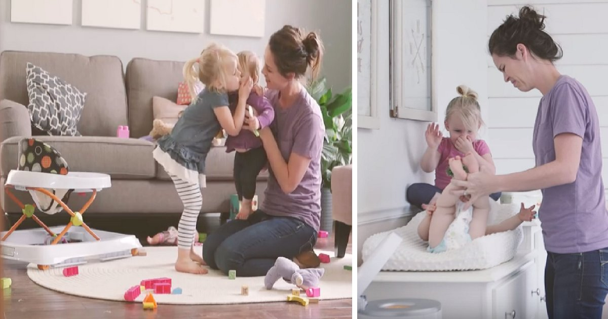 """thumb nail mom - Mother Tells Husband That She Had A """"Normal"""" Day. Then, What Toddler Said To The Husband Made Her Cry."""