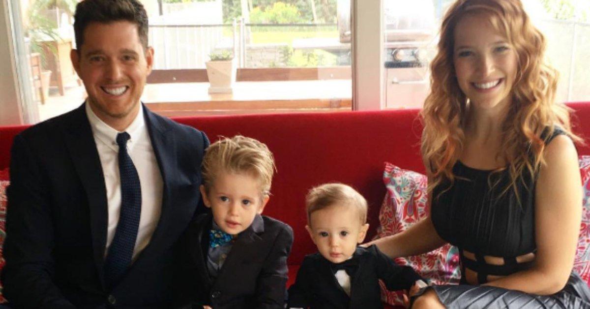 thumbnail5clk.png?resize=1200,630 - Filho de 4 anos de Michael Bublé se recupera de um câncer e o cantor comemora!