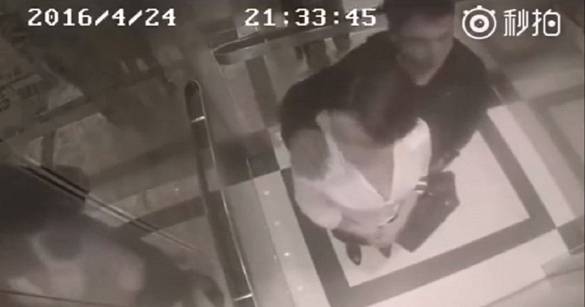 tntn.jpg?resize=412,232 - Woman Teaches a Painful Lesson Right After A Creeper Grabbed Her In An Elevator