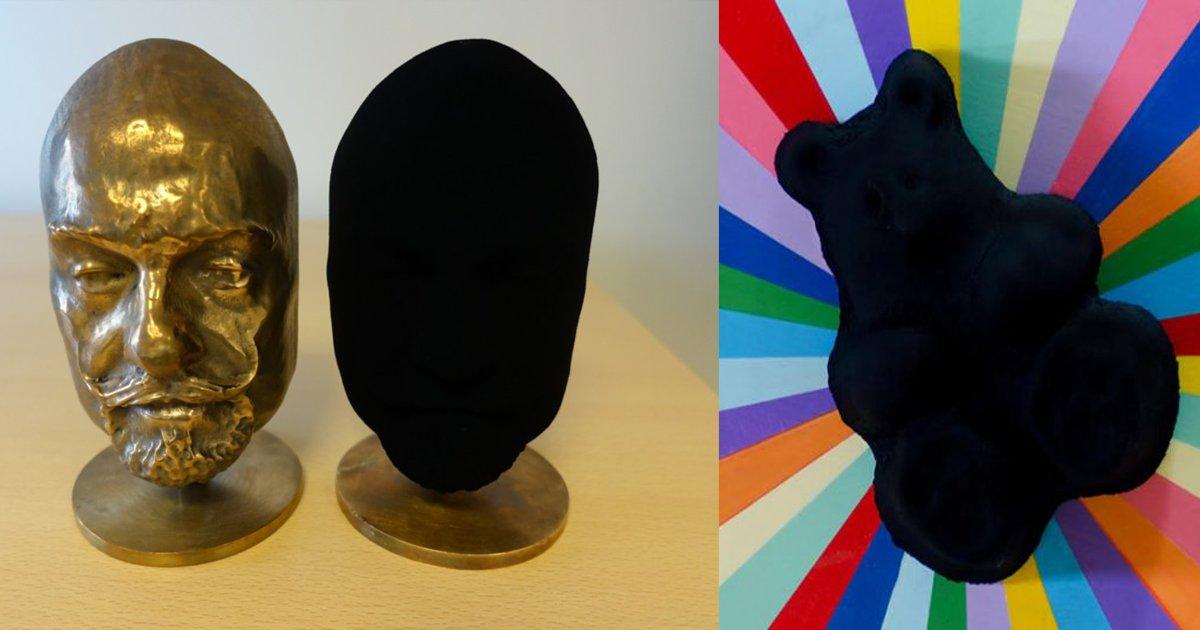 """wgfgfg - Conheça o Vantablack: a """"cor"""" mais preta que existe!"""