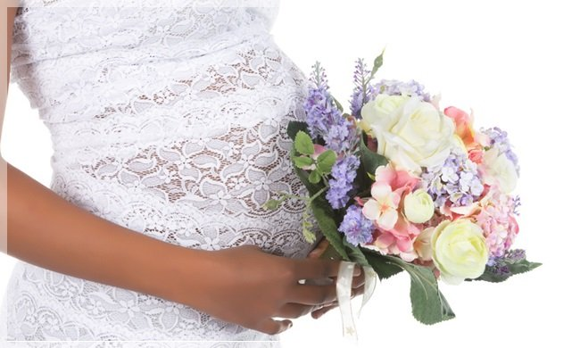 Image result for でき婚 結婚式