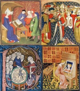 women_activities_in_middle_ages