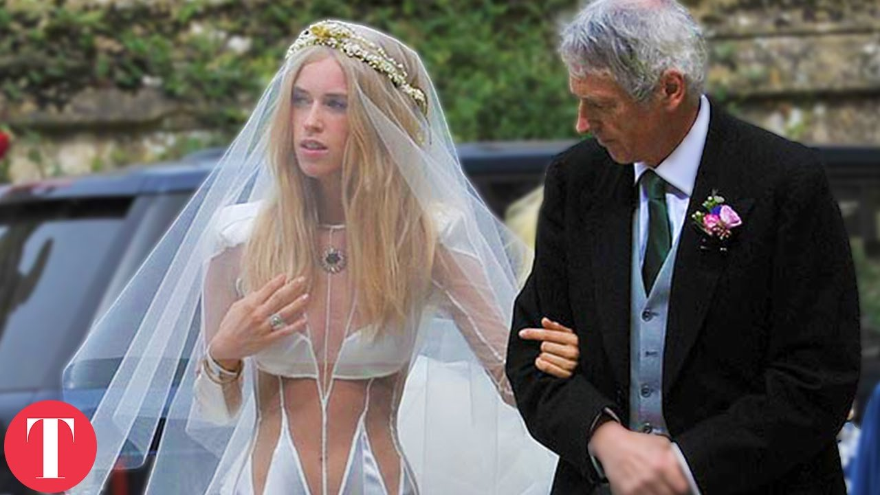 worse wedding dress maxresdefault - 16 Brides Who Really Should Have Said 'No' To Their Wedding Dress
