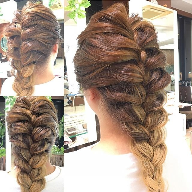you can do without going to a hair salon easy knitting 18094806 1501044303252539 4637072350343331840 n.jpg?resize=1200,630 - ヘアサロンに行かなくてもできる!!簡単な編み込みヘアアレンジを掲載!