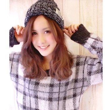 Image result for ニット帽 前髪