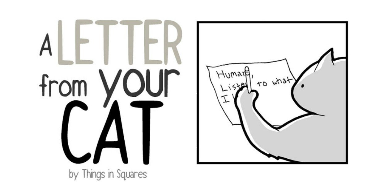 002 2 - Dear Cat Servant, A Cat Has Something To Tell You