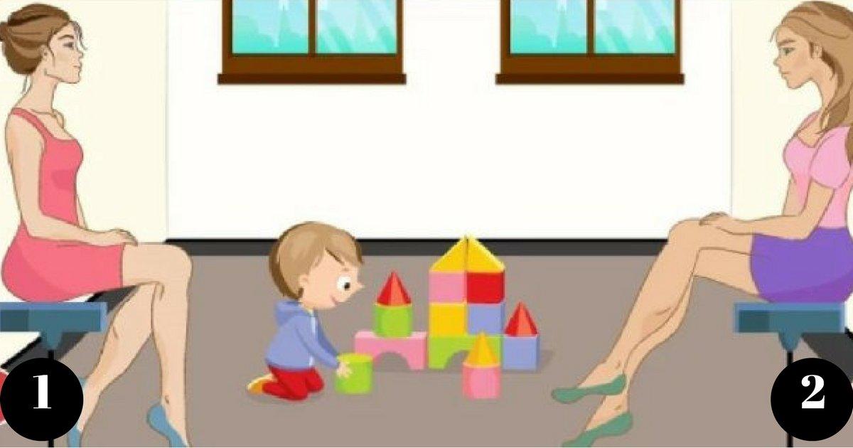 1 32 - Qui est la mère de cet enfant? Devinez et révélez vos traits de personnalité