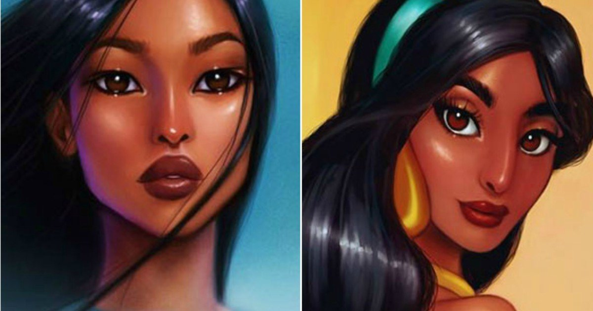 1 486.jpg?resize=300,169 - These Repainted Disney Princesses By An Illustrator Will Leave You In Awe