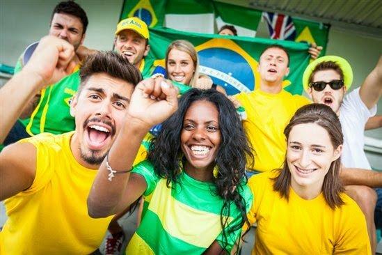 1 a 1 a a a a bra torcedores - 10 famas que brasileiros têm no exterior