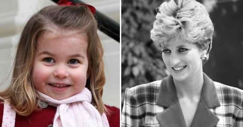 Royal Family Fans Notice That Young Princess Charlotte Looks Almost Identical To Her Late Grandmother Princess Diana