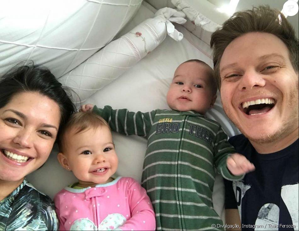 13 7 - Primeira foto de 2018 da família Teló é a coisa mais fofinha que você vai ver hoje