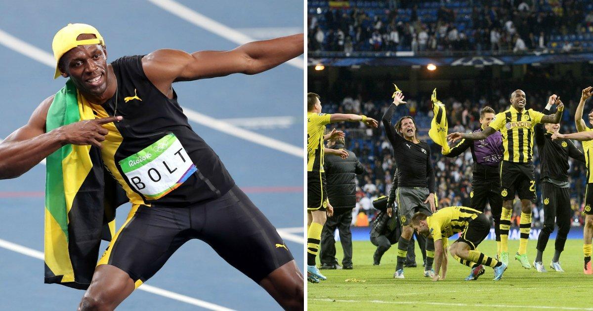 2 172.jpg?resize=648,365 - '세계에서 가장 빠른 사나이' 우사인 볼트, 독일 프로축구 구단 입단테스트 받는다?