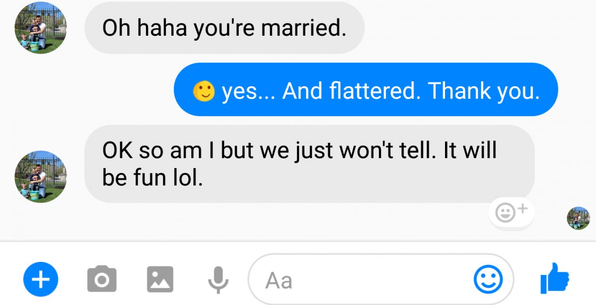 2222 1 e1516945712235.png?resize=412,275 - Married Woman Gave Perfect Reply To A Married Man Who Asked Her Out, Their Convo Went Viral