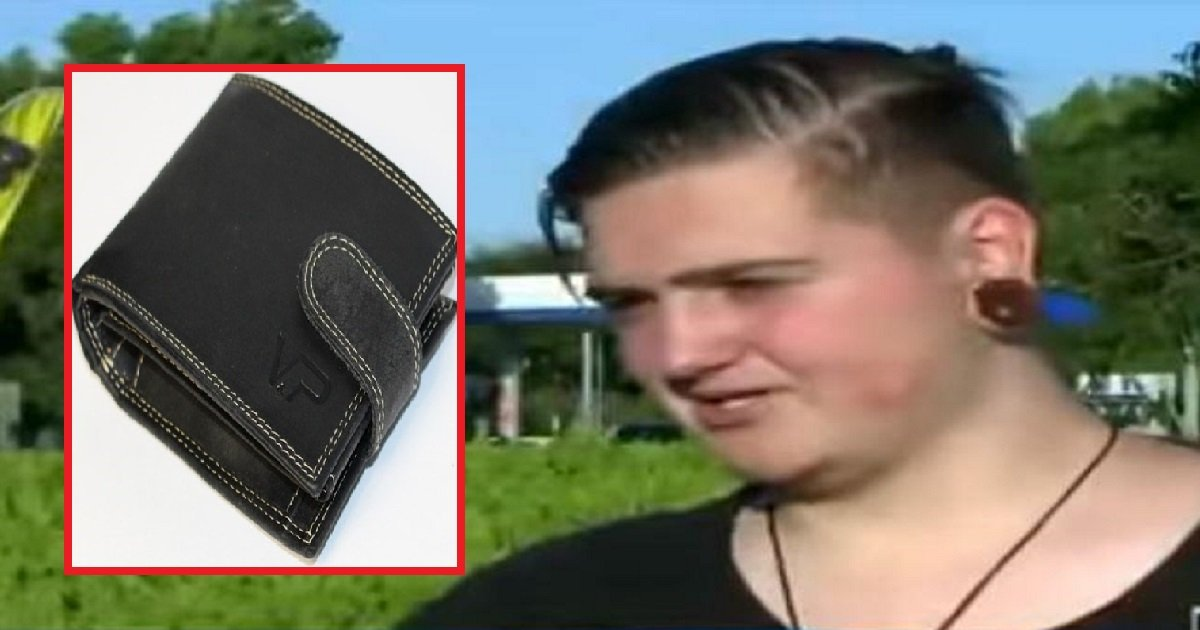 23002 1 - This Teenager Doesn't Have Money For Lunch, And Finds Wallet Lying On The Ground With $2,300 Inside
