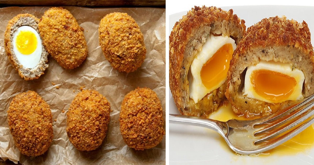 3be19b3643e4d792cc2bf5ab460ddc07 pizza grilled cheeses grilled cheese sandwiches.jpg?resize=636,358 - Delicious Scotch Eggs Recipe, A Nutritious Meal For Kick-Starting Successful Days
