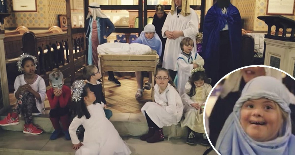 3ec8db8eb84ac - Children With Down Syndrome Create Church Nativity Play, The End Result Is Just Awesome