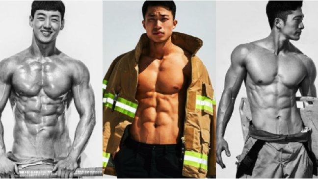 4 18 1.jpg?resize=1200,630 - 看帥哥也能做公益?首爾消防局為了募款而推出消防員猛男月曆