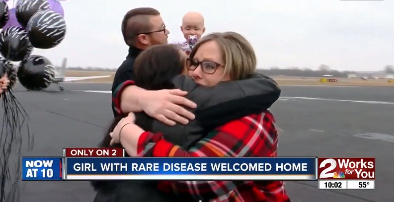 5 19 300x154 - Stranger Donates Private Plane For a Sick Toddler For Christmas