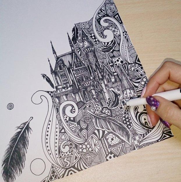 誰でも簡単に始められるボールペン画の描き方4つのコツ - Hachibachi