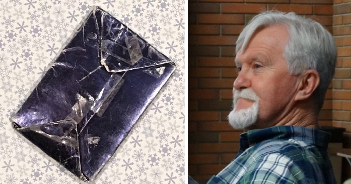6hu - A Man Who Refused To Unwrap Christmas Gift That He Got From His Ex-Girlfriend 48 Years Ago