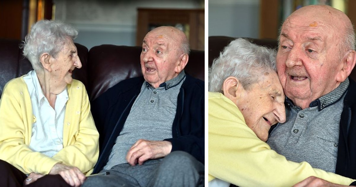 98 year old mother care home 80 year old son ada tom keating liverpool fb6 - À 98 ans, elle déménage en maison de retraite pour s'occuper de son fils de 80 ans !
