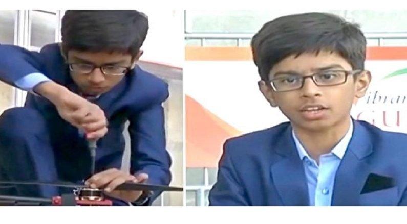 '지뢰 제거 드론' 개발로 백만장자가 된 인도 소년