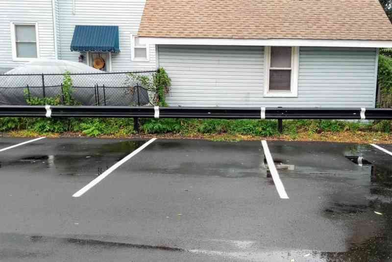 parking lot extended lines