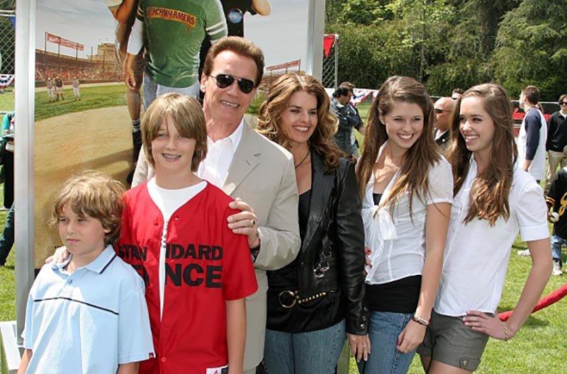 150664836559cda12d820f4 - ¿Cuál de los 5 hijos de Arnold Schwarzenegger tiene más parecido con su padre?