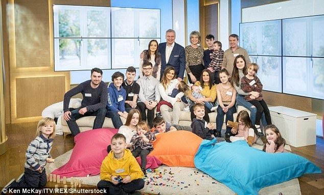 Toda a criança Radford apareceu na ITV