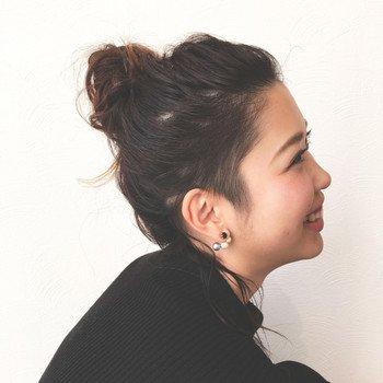 4a02175ce7f53542797d4209234520017e278e6c - 伸ばしかけ前髪をオシャレに!前髪アレンジ方法まとめ