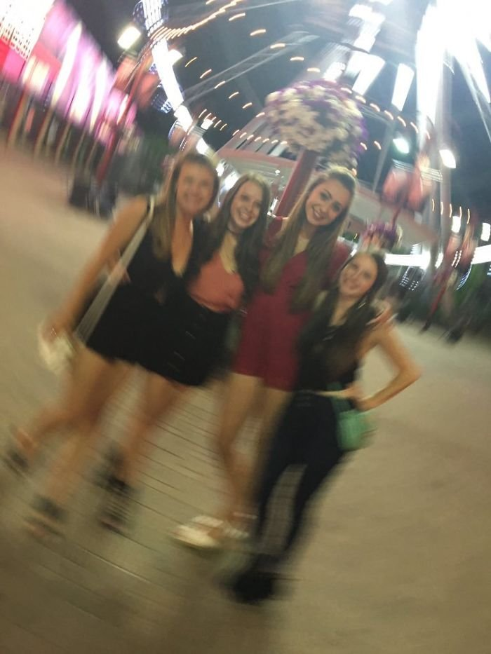 The Stranger We Asked To Take Our Picture Made Us Look Like A Meme