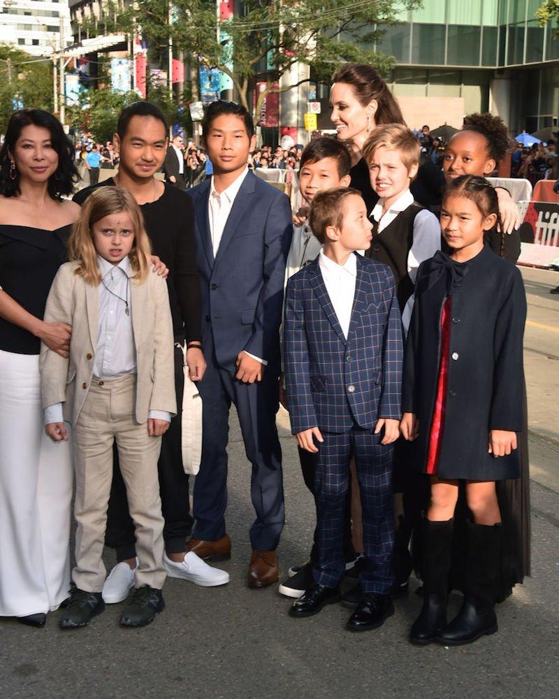 GettyImages 845781168 - Pax el hijo adoptivo de Angelina Jolie y Brad Pit tuvo una historia muy triste, fue abandonado de bebé