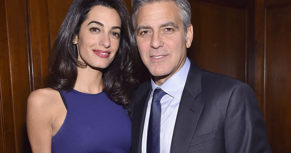 Image result for George Clooney Admits He And Amal Don't Have A Nanny And Says Diaper Changing Is 'His Job