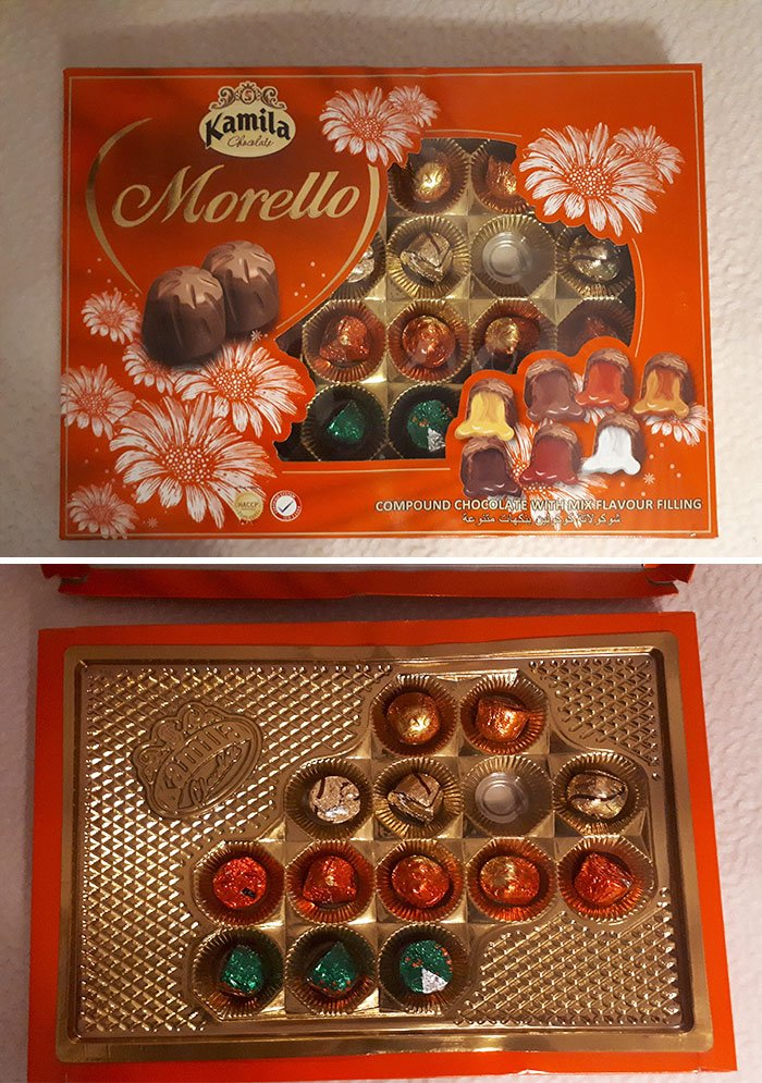 This Box Of Chocolates. They Didn