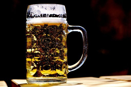맥주, 낯 짝, 다과, 맥주잔, 한잔, 바이에른, 비어 가든, 유리 찻잔