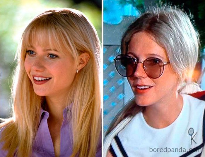 Gwyneth Paltrow And Blythe Danner At Age 29