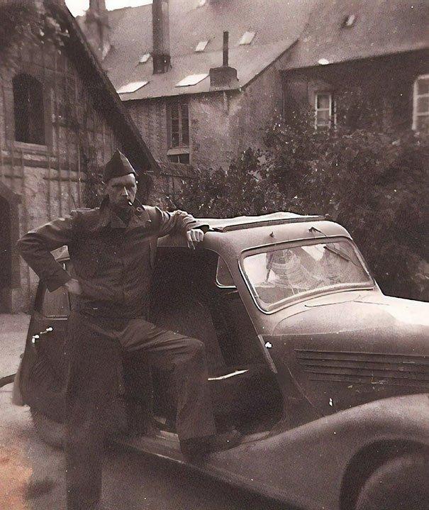 WW2 - My Badass Grandpa With A Car He Stole From Nazis