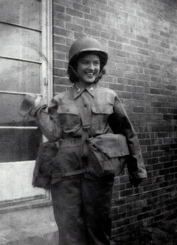 My Grandmother Turned 98 This Week. This Is Her In Her Full Nursing Uniform During WW2