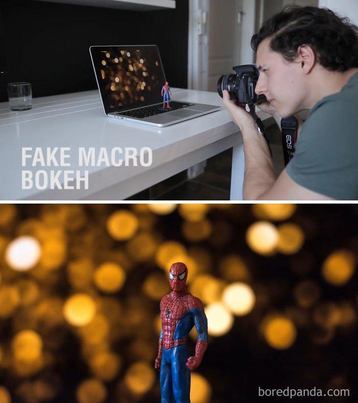 Instant Fake Macro Bokeh