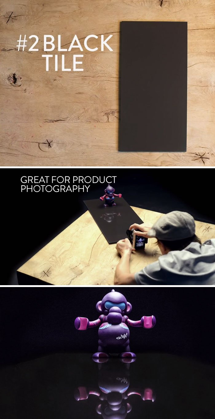 Get A Black Tile For Product Photography