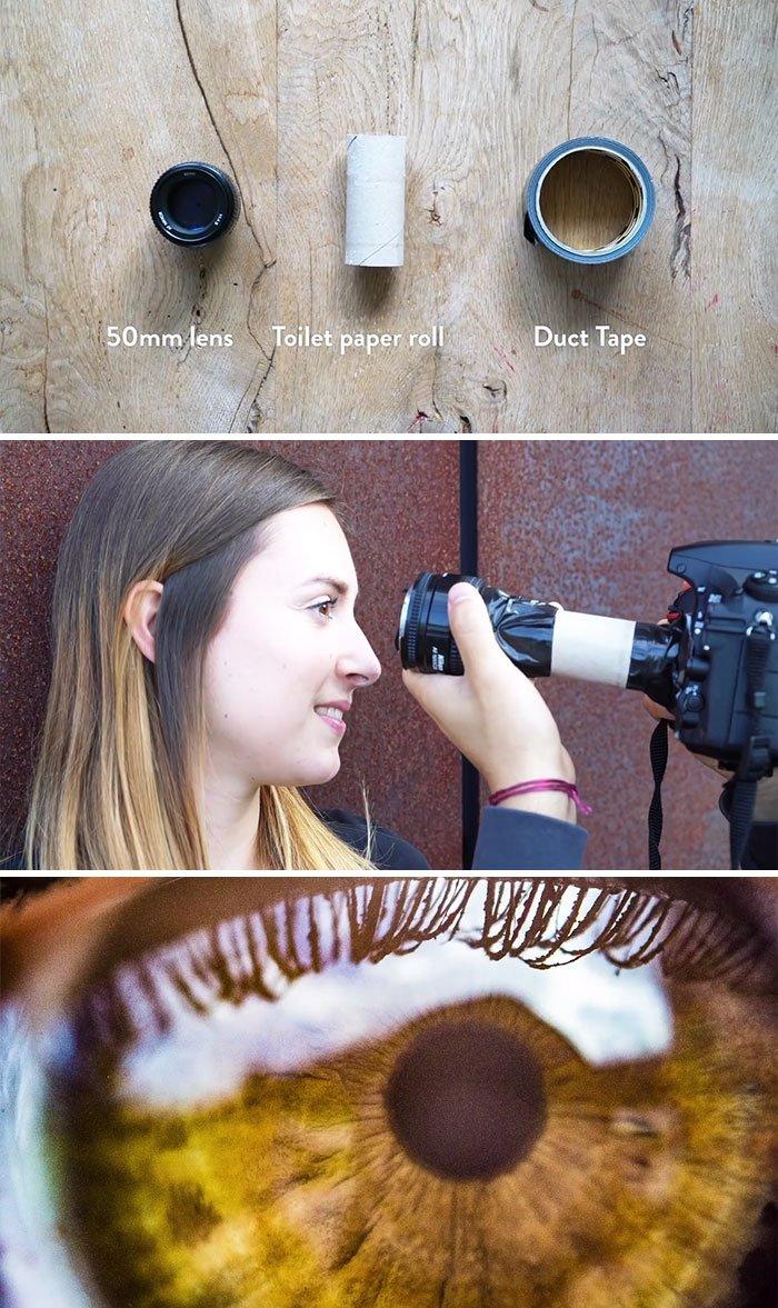 Easy Macro Lens Hack