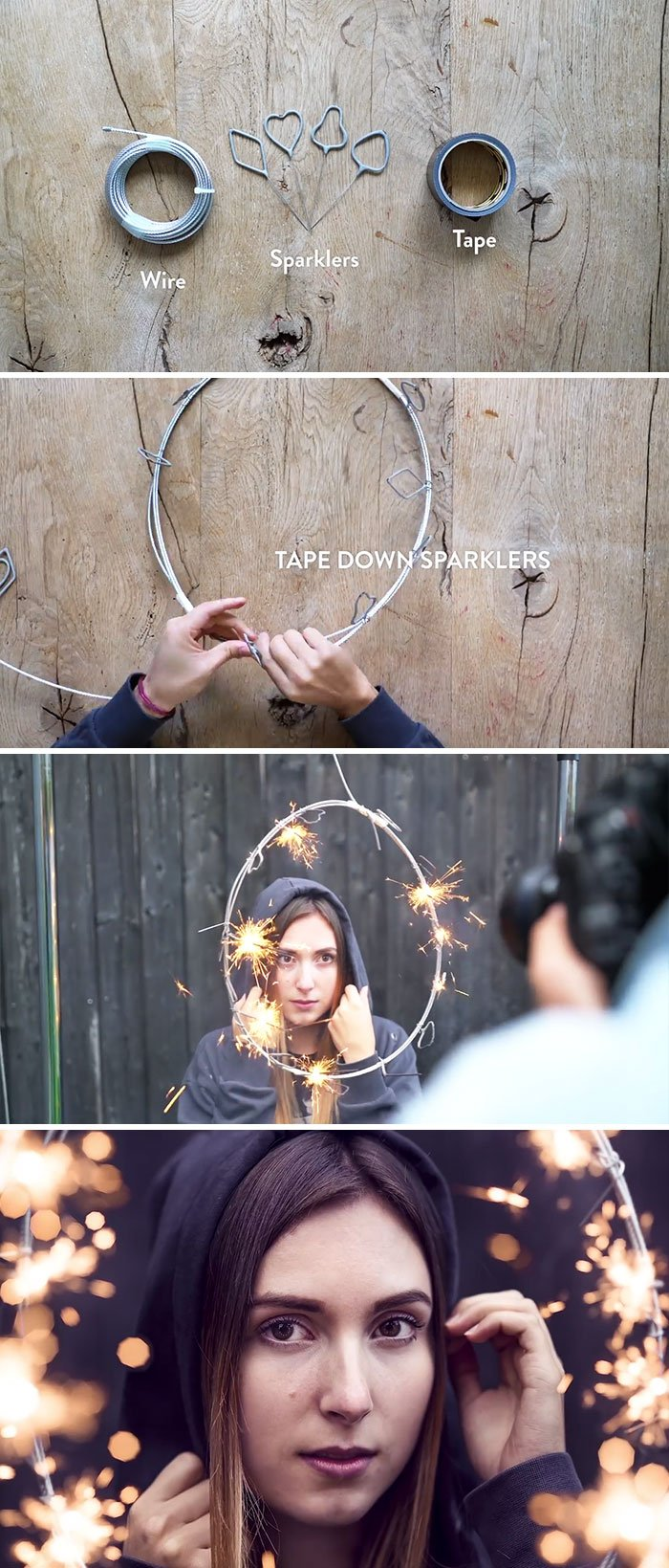 Create A Sparkling Ring Of Fire