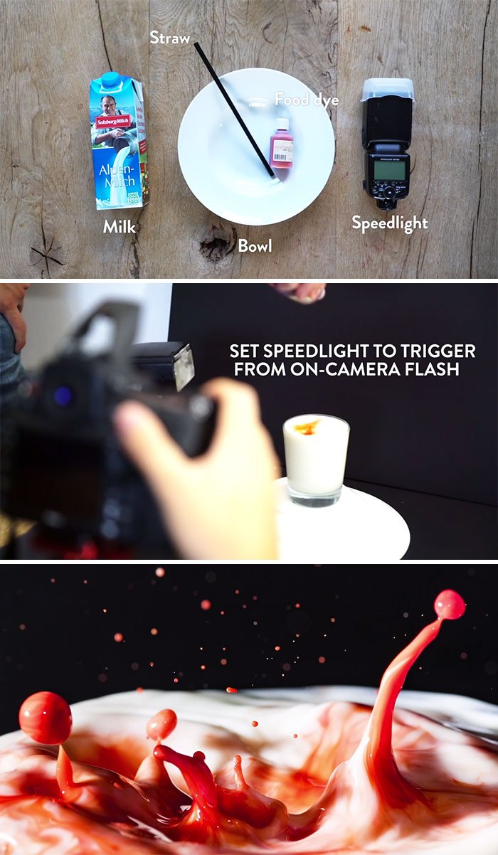 You Only Need A Few Simple Items To Capture Highspeed Drops