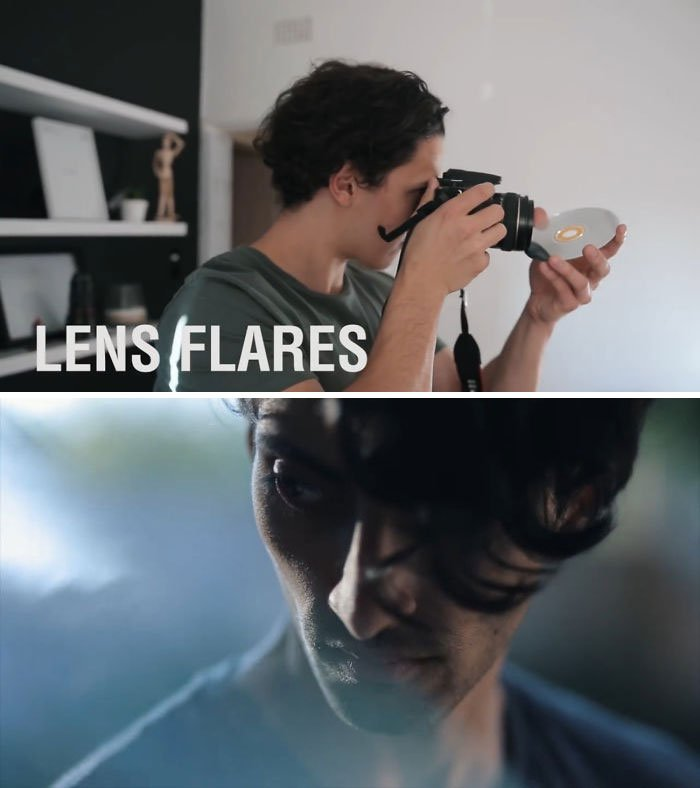 Use A CD To Create Lens Flares