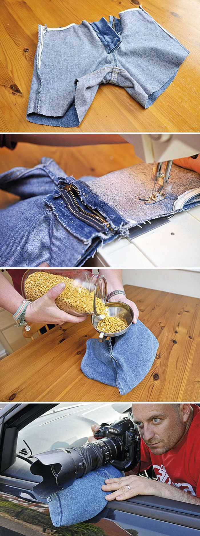 Reduce Camera Shake With A Bag Of Lentils